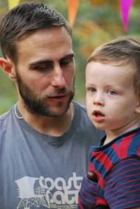 Vader en zoon - kind in gezin